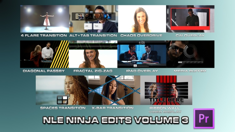 NLE Ninja Edits X Volume 3 Screenshot